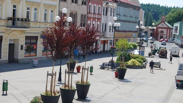 Staré náměstí Sokolov