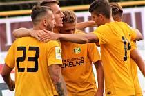 Fotbalisté Baníku vyhráli na hřišti Viktorie Žižkov 2:1.