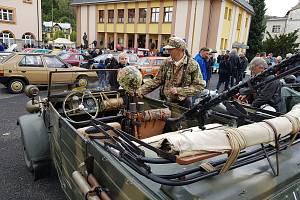 Sraz veteránů v Kraslicích