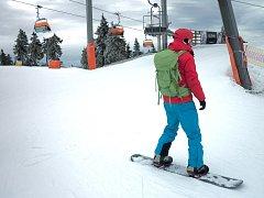 Skiareál Klínovec (na snímku) čeká revoluční novinka, díky které přibudou kilometry sjezdovek.