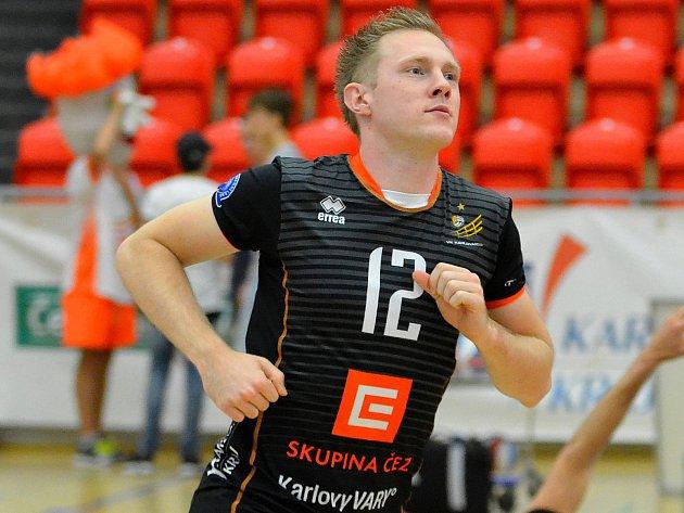 Daan Van Haarlem, nahrávač VK ČEZ Karlovarsko, si mohl vychutnat společně se svým týmem již pátou výhru.