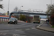 Most v sokolovské ulici Jednoty