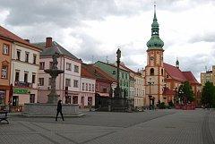 Staré náměstí Sokolov.
