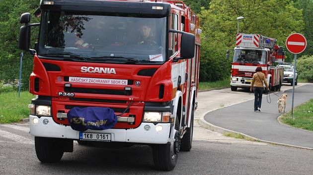 Kondiční jízdy hasičů apolu s MP v Sokolově