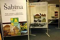 Výstava obce Šabina.