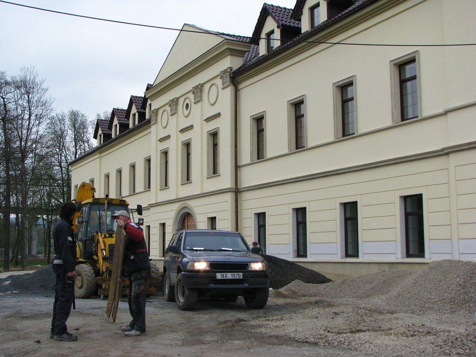 Záběry ze stavebních úprav v letošním roce.