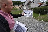 Procházka po Horním Slavkově se Zdeňkem Heppnerem.