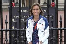 Ivana Sekyrová na olympijských hrách v Londýně