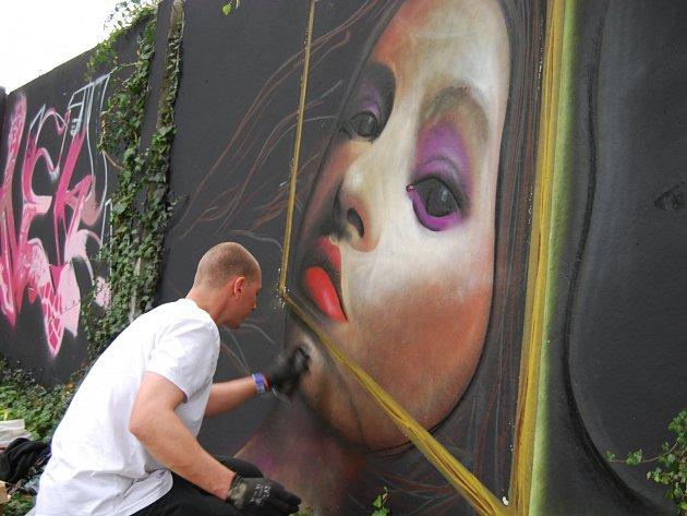 Graffiti v Sokolově