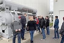 Studenti sokolovské ISŠTE v Německu.