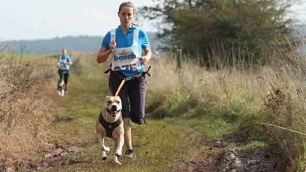 """CANICROSS je běh se psem, kde je důležité vzájemné porozumění páníčka a psa. Mezi první nadšence na Sokolovsku patří i Markéta Röslerová a Vanda Říhová. Přidávají se i další """"pejskaři""""."""