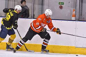 """Play off krajské hokejové ligy: HC Čerti Ostrov - HC Baník Sokolov """"B"""""""