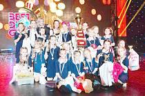 Po získání titulu Czech Dance Masters dívky ovládly i soutěž Taneční skupina roku.