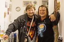 Jan Zmrzlý (vlevo) s Vilémem Čokem
