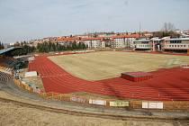 Fotbal FK Baník Sokolov. Ilustrační foto.