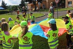 Pondělí v rámci akce Sokolov v teniskách patřilo v domě dětí a mládeže školympiádě dětí ze sokolovských mateřinek.