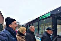 Vedení města zkontrolovalo novou MHD.