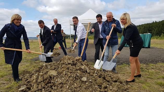 Zahájení stavby napojení na průmyslovou zónu