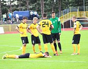 Smutek fotbalistů FK Baník Sokolov