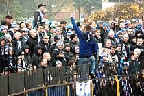 Fanoušci BAníku Ostrava v Sokolově