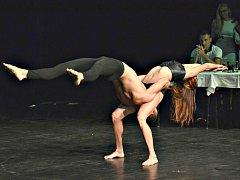 Loňští vítězové talentové soutěže Alica Hukelová a Andrej Mészáros, vystupující pod uměleckým jménem A&A Gravity