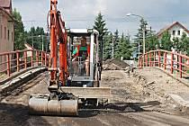 Jeden z opravovaných mostů (na snímku) patří Krajské správě a údržbě silnic Karlovarského kraje