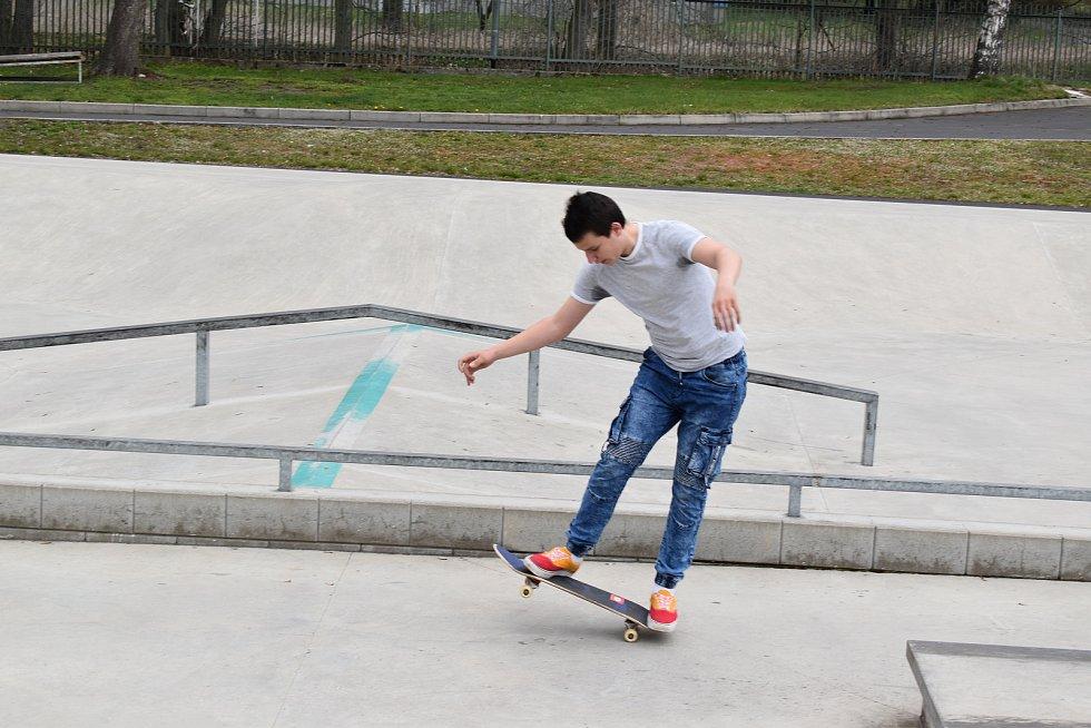 Skatepark v Sokolově