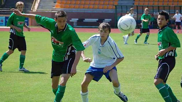 Starší žáci Baníku Sokolov s Mladou Boleslaví remizovali 1:1.