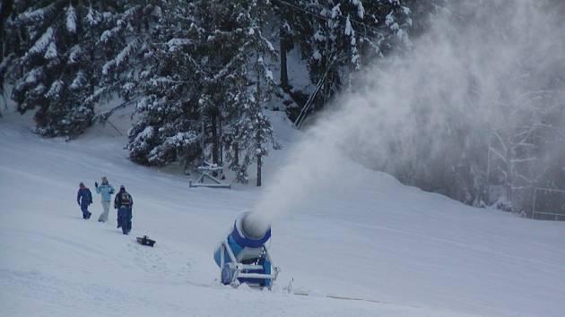 Skiareál Bublava.
