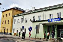 Nádraží v Sokolově