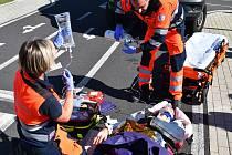 Testování videohovoru přes aplikaci záchranka