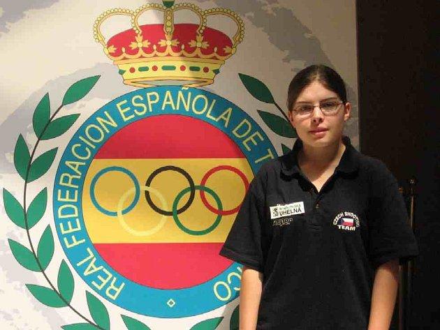 Jana Lorencová na ME ve Španělsku.