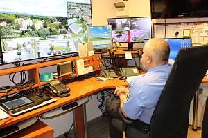 Městská policie Chodov má k dispozici nedávno modernizovaný kamerový systém.