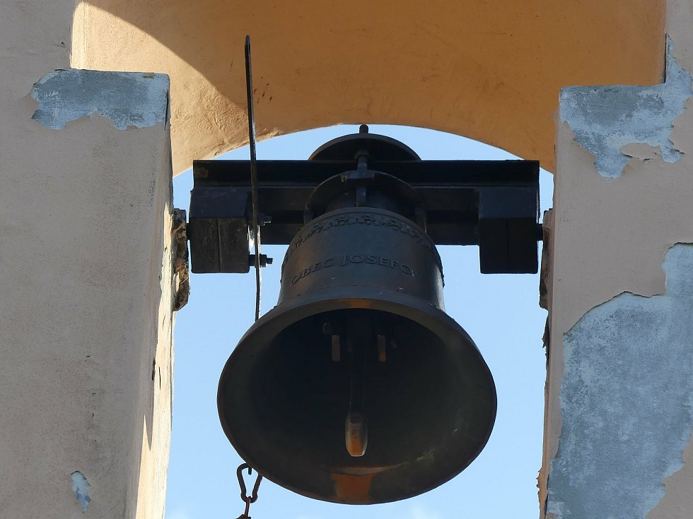 Zvon speciálně vyrobený pro zvoničku.