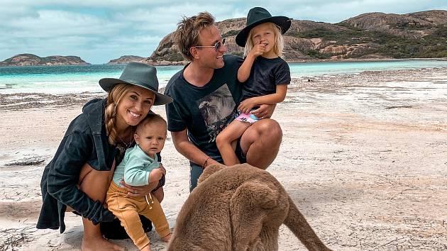 Levi s rodinou. Foto: archiv rodiny