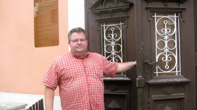 Ředitel sokolovského muzea Michael Rund.