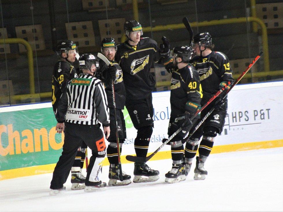 31. kolo Chance ligy: HC Baník Sokolov - HC Stadion Vrchlabí