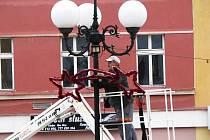 Sokolov a další města v regionu se už pomalu připravují na vánoční výzdobu