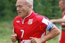 Fotbalové legendy se představily v Kynšperku - František Veselý