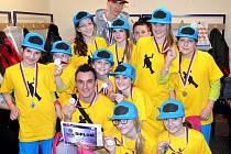 Taneční skupina postoupila na mistrovství Čech
