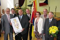 Slavnostní vyhlášení Vesnice roku v Lomnici.