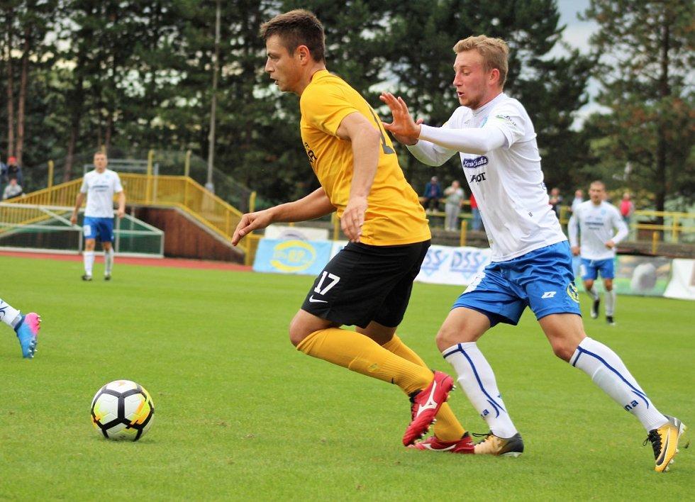 Fotbalisté druholigového Baníku Sokolov v nedělním utkání 7. kola Fortuna národní ligy prohráli na svém hřišti se Znojmem 2:3.