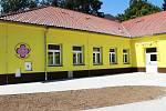 Sokolovský stacionář Mateřídoušky vznikl přestavbou školní družiny bývalé 4. základní školy.