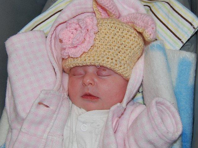 Ema Zajíčková ze Sokolova se narodila 5. října