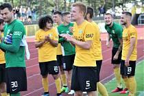 KONEC. Po 14 letech opustil Sokolov druhou fotbalovou ligu, teď je se soutěží znovu spojován. Podzimní zápas Baníku na Vyšehradě měli ovlivnit rozhodčí za úplatu v jeho neprospěch.