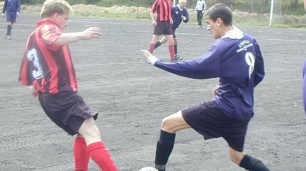 Fotbalisté Lomnice B remizovali ve Staré Chodovské.