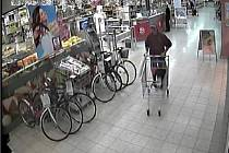 Záběry z bezpečnostních kamer.