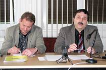 Pavel Bráborec (vpravo)