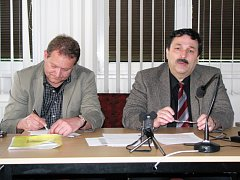 KRAJSKOU organizaci APSS ČR vede jako nový předseda Pavel Bráborec (vpravo).