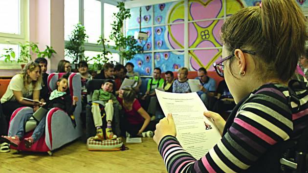 DOTACE  dostává pravidelně také stacionář Mateřídouška, který se stará o klienty s mentálním postižením.